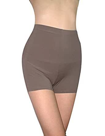 Marilyn Monroe Womens High Waisted Tight Shorts / Shapewear / Slimmer 2XL Rosy Brown