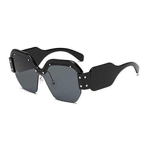 Gafas Personalidad New de 5 de Marco y Sol Ladies de Sunglasses Europeo 5 Europeo la 2018 YANJING Color xSF6qw4UIF