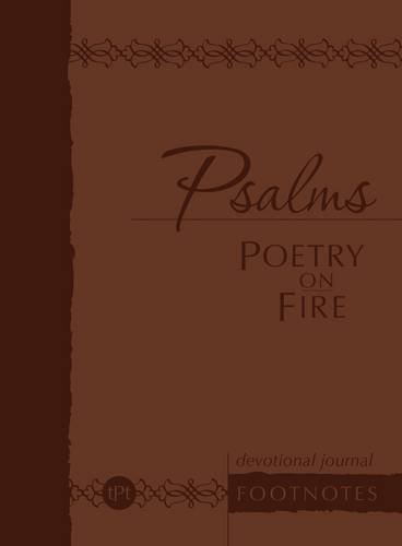 Price comparison product image Psalms Poetry on Fire: Devotional Journal (Footnotes) (Passion Translation) (The Passion Translation)