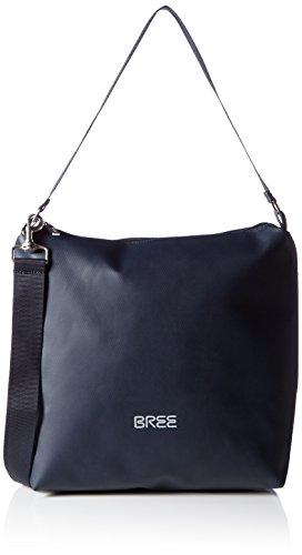 BREE 83702 - Bolso Bandolera de Sintético Mujer Azul (Blue 251.0)