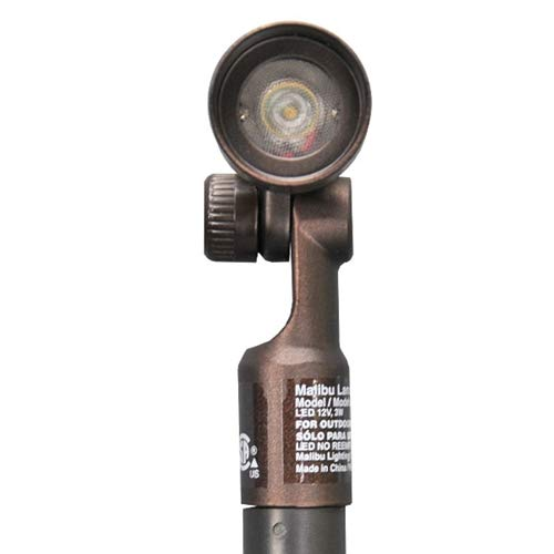 Outdoor Malibu LED 8406-2606-01 Low Voltage Adjustable Mini Oil Rubbed Bronze spot Light by Malibu C