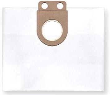 1x Bolsa reutilizable con cremallera para aspirador tejido Metabo ...
