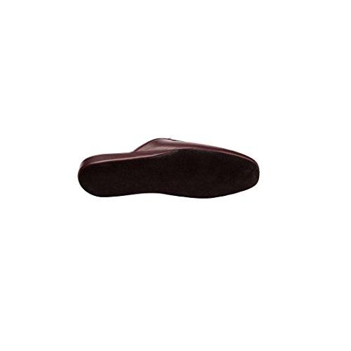 Al Bagatt Esclusive Pantofole Uomo in Pelle Colore Nero E Bordeaux Artigianali Nuove Made in Italy Precio Barato Venta Clásica Códigos De Descuento En Línea De Compras 7Dee7Ll3