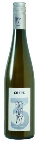 Leitz EINS-ZWEI-DRY Riesling QbA trocken, halbe Flasche, 6er Pack (6 x 0.375 l)