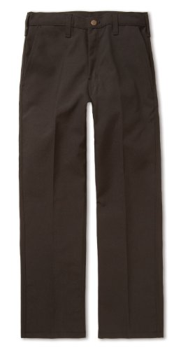 Workrite 402NX75BK34-XX Flame Resistant 7.5 oz Nomex IIIA Full-Cut Industrial Pant, 34 Waist Size, Open Inseam, Black