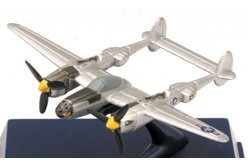 P-38 Lightning - Mini Die Cast WWII Fighters