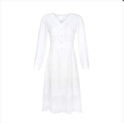 inverno prom per da e ballo ragazze sera Abiti casual donna TSNMNB da adolescenti beachwear autunno da bianco abito xw6XHnYRq