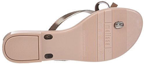 rose Gold Para Metallica Mujer Harmonic Gold Melissa Chanclas 7S4YYq