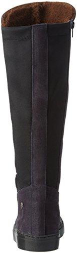 Jonnys Skule - Botas Altas Para Mujer Multicolor (Antracita / Negro)