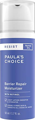 - Paula's Choice RESIST Barrier Repair Moisturizer w/Retinol, 1.7 oz Bottle
