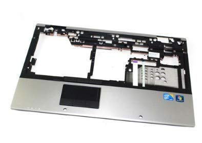 HP 595776-001 Upper CPU cover (chassis top) - Includes TouchPad button and bracket - For use on 8540p models without a fingerprint reader