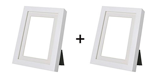 Set of 2 - Ribba Picture Frames 8 x 10 inch 2 White