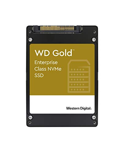 "Western Digital 3.84TB WD Gold SN600 Enterprise Class NVMe Internal SSD - SATA III 6 Gb/s, 2.5""/7mm - WDS384T1D0D"