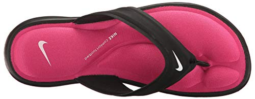 Pink Ultra Black Womens Comfort White NIKE Sandals vivid Synthetic Thong SZwPq