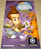 The Adventures of Jimmy Neutron: Boy Genius: Attack of the Twonkies Game Boy Instruction Booklet (GameCube Manual only) (Nintendo Game Cube Manual) [Nintendo] [Pamphlet]