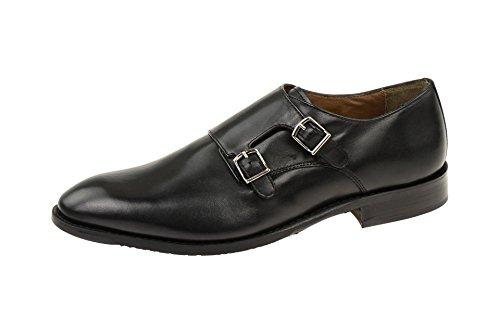 Bros Businessschuhe amp; aus Black Milano Gordon Herren Ledersohle A500410 Bergamo Nappaleder Elegante awZSXAq
