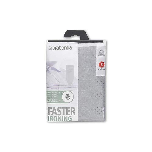 Brabantia 317705 Ironing Board Cover 49 x 15 Inch (Size B, Standard) - Gray