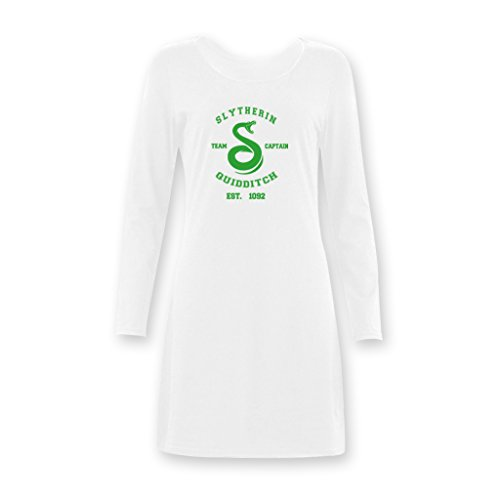 Jane Harry Potter Slytherin Quidditch Women's Girls Long Nightshirts XS-XXXL (Harry Potter Dressing Up)