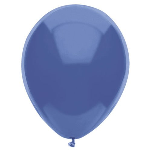 PartyMate Balloons Latex Balloons 076530 Periwinkle, 12