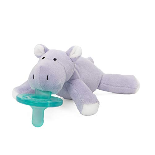 (WubbaNub Infant Pacifier - Hippo)