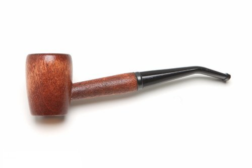 Missouri Meerschaum - Ozark Mountain Hardwood Tobacco Pipe - Rob Roy, Bent Bit (Pipe Wood Light Tobacco)