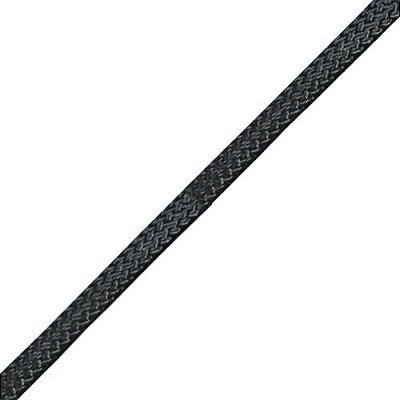 Bluewater 5MM Titan Pre-cut Accessory Cord - Solid Black 6M by Bluewater