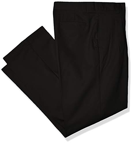 French Toast Big Boys Pleated Pant, Black, 10H