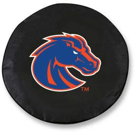 Boise State Tire Cover - Boise State University Black Tire Cover-TCLGBOISESBK (TCLGBOISESBK)