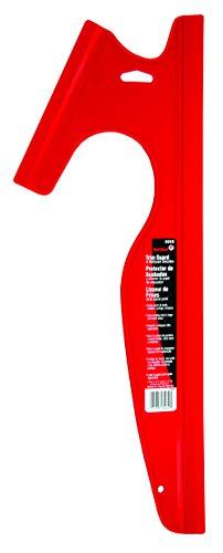 Red Devil 4049 Dual Edge Paint Trim Guard, 18 in L, Contoured Handle
