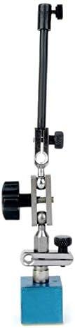 高感度精度0-10mm精密レバーダイヤルテストインジケーター安定したゲージ磁気ベースホルダースタンドで簡単に操作-ブルー&ブラック