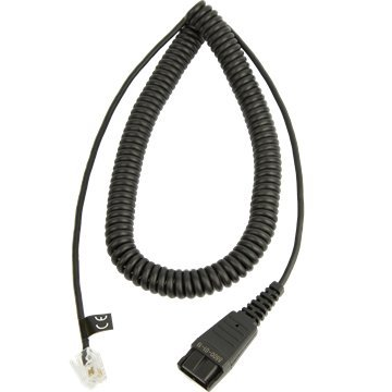 GN NETCOM 8800-01-19 / QD TO RJ-9 DIRECT CONNECT COILED CORD FOR NORTEL NEW ORION ()