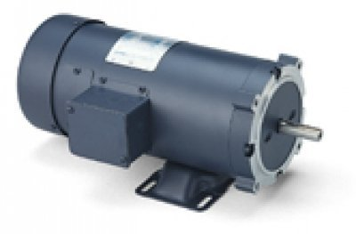 Leeson Electric, 108022.00, 1HP, 1750RPM, 90V, S56C Frame, C-Face Flange, Foot Mount, TEFC, DC NEMA ()