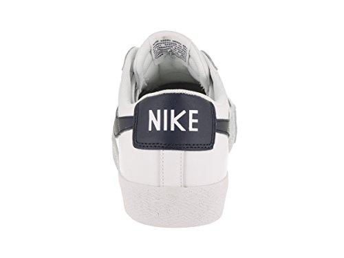 NIKE Herren SB Blazer Zoom Low Skate Schuh Weiß / Obsidian