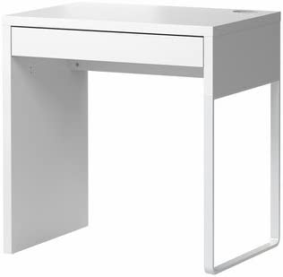Ikea Micke, Desk, White