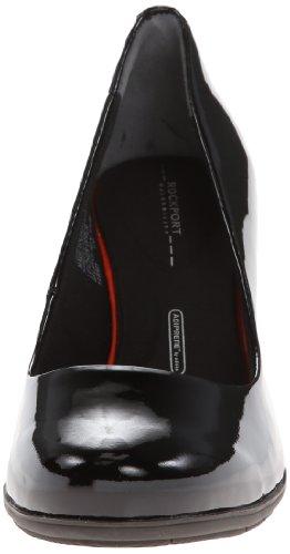 Women's Patent Black Total Pump Motion Rockport CqwRTxOdT