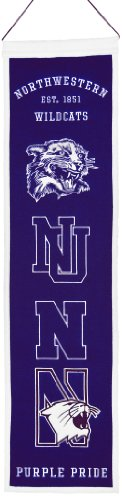 picture of NCAA Northwestern Wildcats Heritage Banner