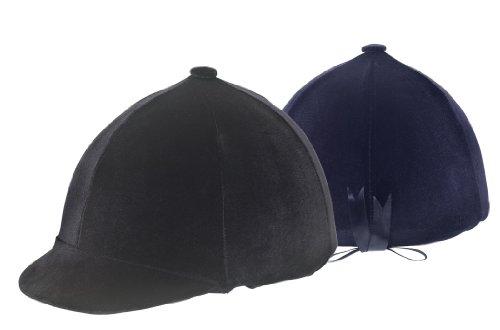 (Ovation Zocks Velvet Helmet Cover - Size:One Size Color:Black)