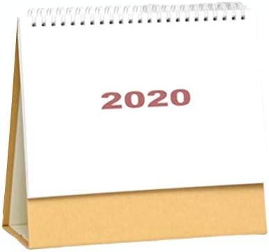 sanguiner tischkalender 2020 Desktop Kalender Office Planer Notizblock Kalender für Heim- und Bürodesktop (3 Stile)