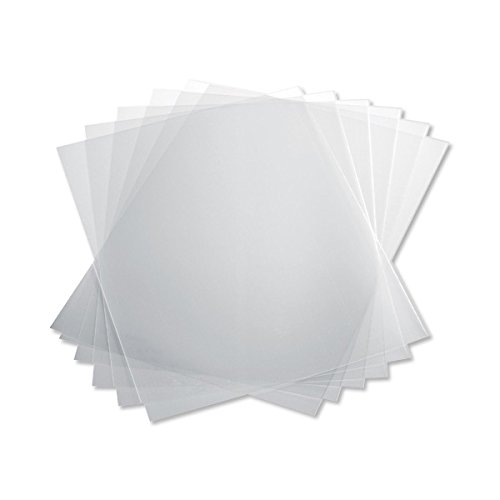 TruBind 10 Mil 8-1/2 x 11 Inches PVC Binding Covers - Pack of 100, Clear (CVR-10ASN)