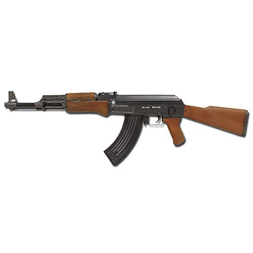 SAS FUCILE SOFTAIR 0.9 JOULE A MOLLA AK 47 CALCIO FISSO 120703 FINTO LEGNO - CYBERGUN