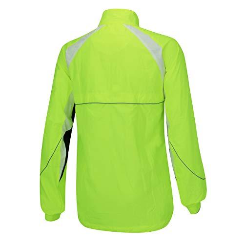 viento con e impermeable para Technical Airtracks ciclismo de Jacket a prueba Fluo UTxwqXC