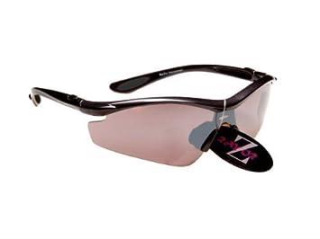f47494f11df RayZor Professional Lightweight UV400 Black Sports Wrap Cycling Sunglasses