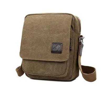 452bf7bff6c4 Amazon.com: men's travel bags cool Canvas bag fashion men messenger ...