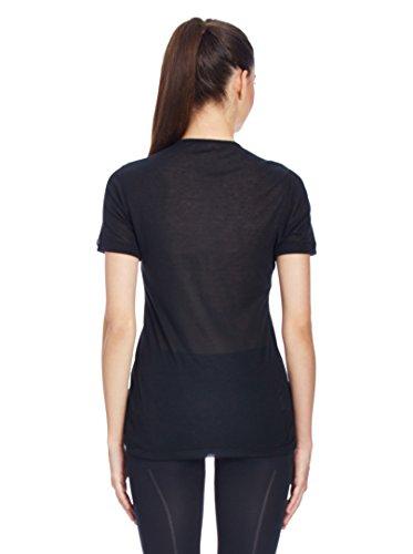 Odlo Cubic - Camiseta para mujer, tamaño L Negro (Schwarz) (Black)
