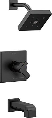 - Delta Faucet T17467-BL Ara Monitor 17 Series Tub & Shower Trim, Matte Black