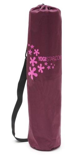 Yogistar Yogatasche Basic Logo - Nylon - 65 cm - Bordeaux