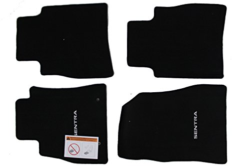 Genuine Nissan Accessories - Genuine Nissan Accessories Custom Fit Carpeted Floor Mat - (Black) (999E2-LZ000)