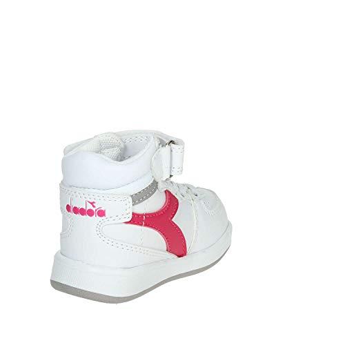 Bambini – Unisex Scarpe 45059 Diadora Playground fuxia Ginnastica Bianco Da H Td 8xq81waO4