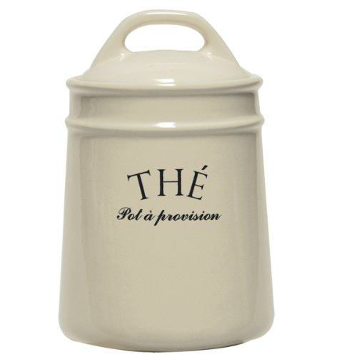 French Style Old World Tea Canister