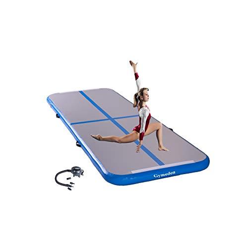 Gymeden Versatile extensible air Track Tumbling mats for gymnasticsair Tumble Track for Gymnastics,air Tumbling trackgym Exercise Floor matsgym Yoga mat for Yoga Training Wrestling Taekwondo Tumbling
